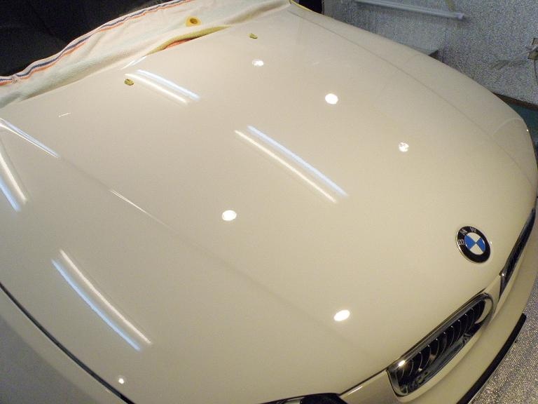 ガラスコーティング BMW ボンネット