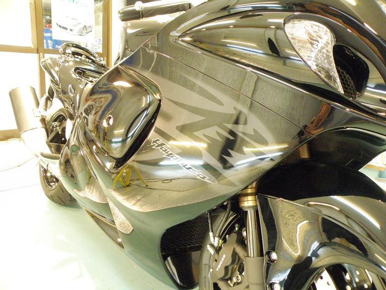 バイクガラスコーティング ハヤブサ