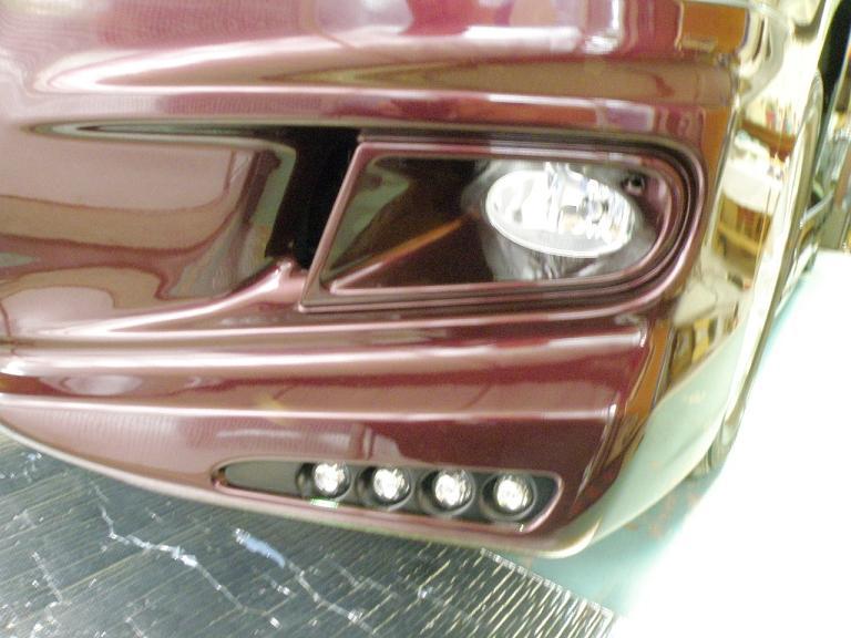 ガラスコーティング ステップワゴン フロントバンパー
