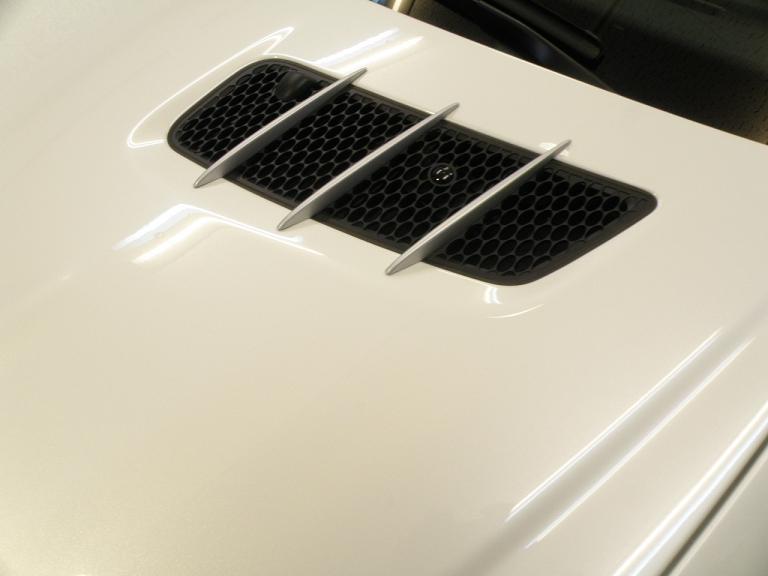 ガラスコーティング ベンツSL350 エアダクト