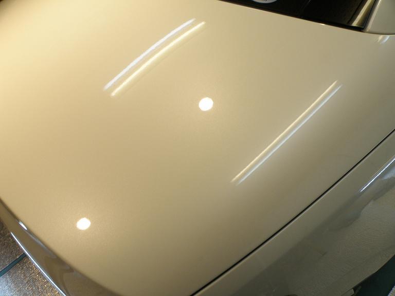 ガラスコーティング ベンツSL350 トランク