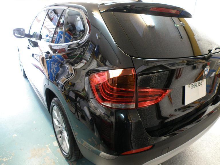 ガラスコーティング BMW X1 カーフィルム