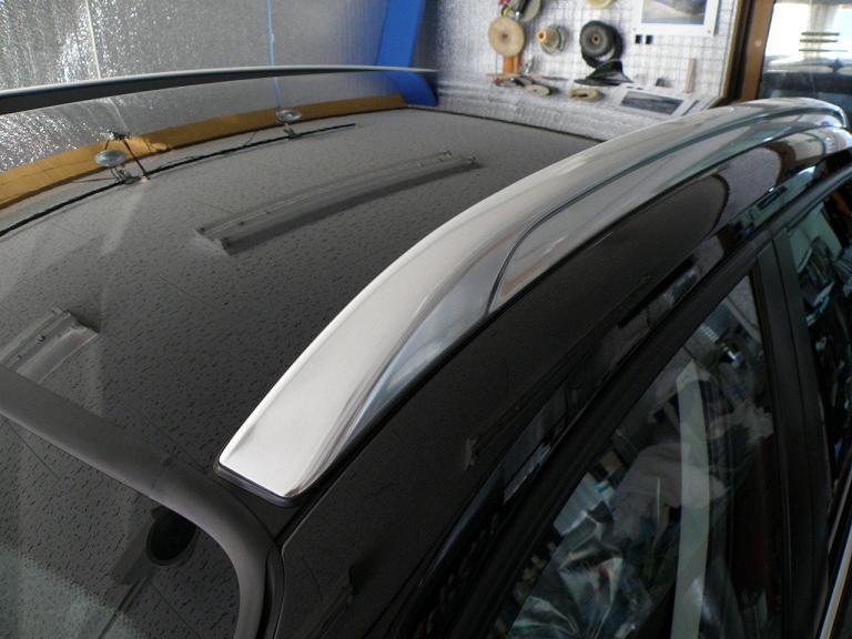 ガラスコーティング BMW X1 ルーフバー