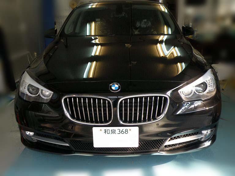 ガラスコーティング BMW GT 施工後