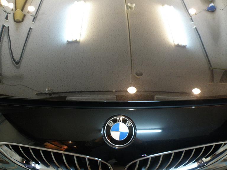 ガラスコーティング BMW GT ボンネット