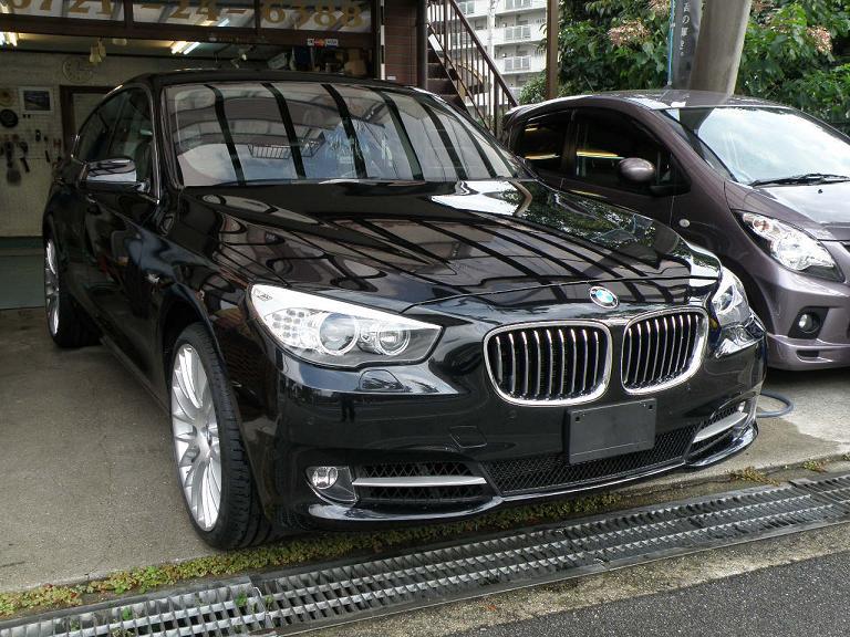 ガラスコーティング BMW GT