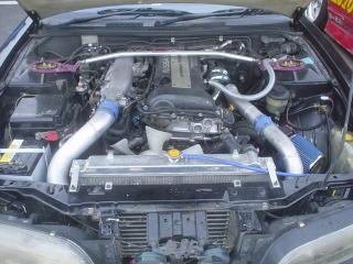 S14 平野様 エンジンルーム