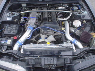 S14 寺沢様 エンジンルーム