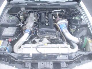 S14 石田様 1台目 エンジンルーム