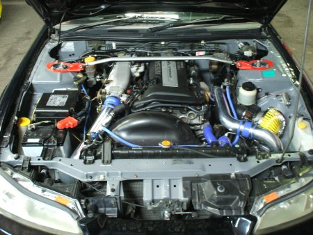 S15 尾下様 エンジンルーム