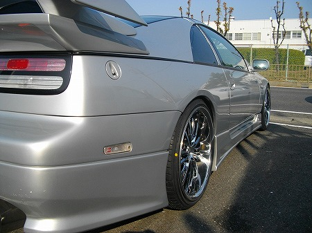 フェアレディZ レイズ ブラックフリートV350 19インチ