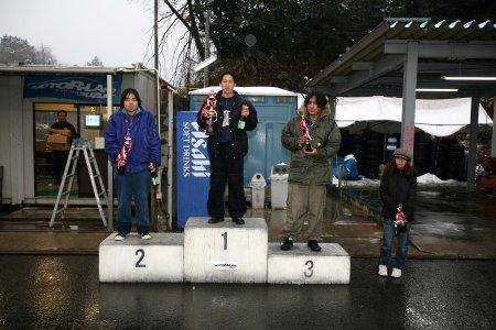 第49回 走行会 2008年2月9日 グリップ初級 表彰式