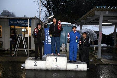 第49回 走行会 2008年2月9日 グリップ上級 表彰式