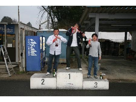 第50回 走行会 2008年4月13日 グリップ初級 表彰式