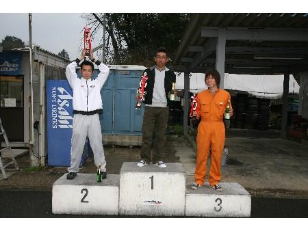 第50回 走行会 2008年4月13日 グリップ上級 表彰式