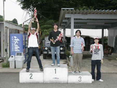 第51回 走行会 2008年6月8日 グリップ初級 表彰式