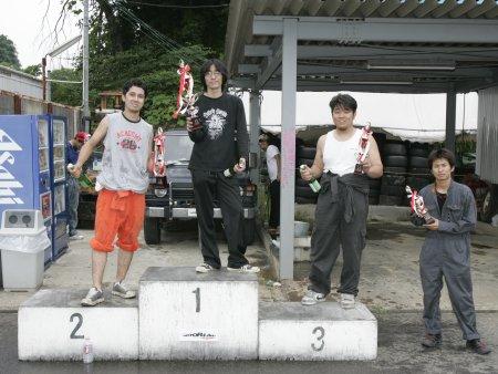 第51回 走行会 2008年6月8日 ドリフト上級 表彰式
