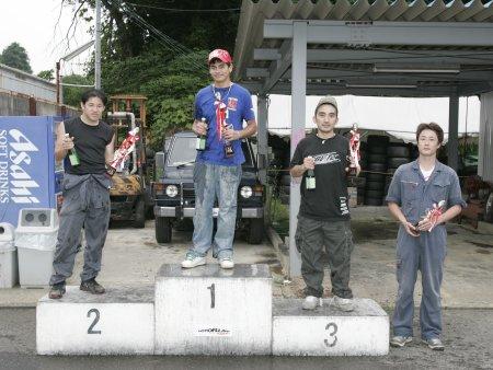 第51回 走行会 2008年6月8日 ドリフト初級 表彰式