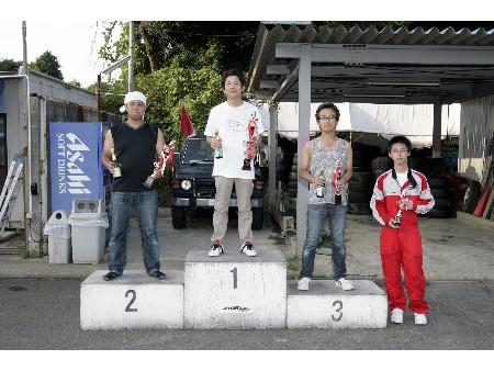 第52回 走行会 2008年8月9日 グリップ初級 表彰式