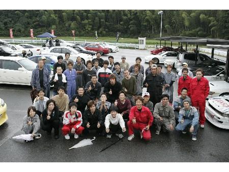 第53回 走行会 2008年10月11日 集合写真