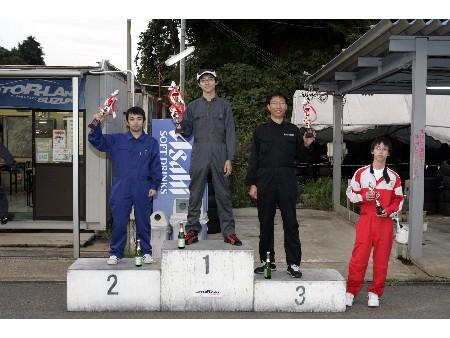 第53回 走行会 2008年10月11日 グリップ初級 表彰式
