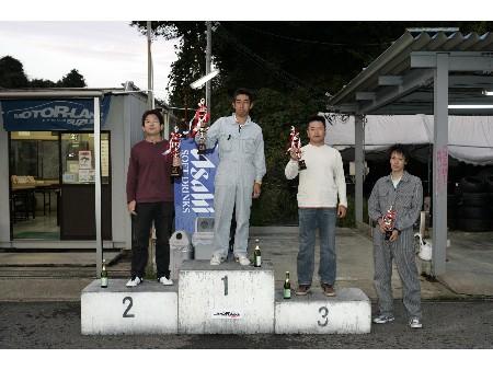 第53回 走行会 2008年10月11日 グリップ上級 表彰式