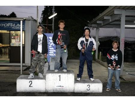 第53回 走行会 2008年10月11日 ドリフト上級 表彰式