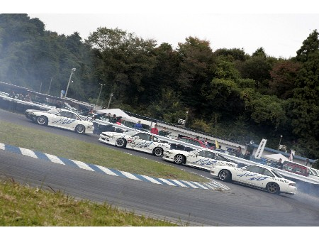 第54回 走行会 2008年11月9日 4台連ドリ