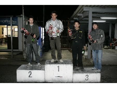 第54回 走行会 2008年11月9日 グリップ上級 表彰式