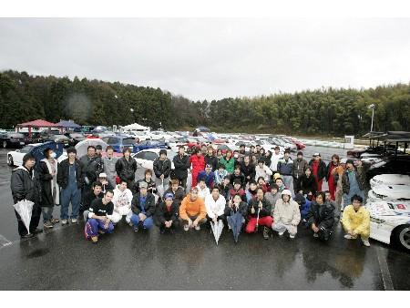 第55回 走行会 2009年3月14日 集合写真