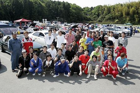 第56回 走行会 2009年5月9日 集合写真