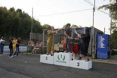 第56回 走行会 2009年5月9日 シャンペンシャワー
