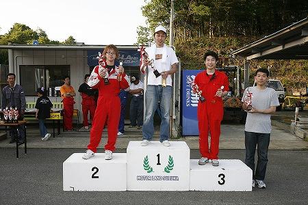 第56回 走行会 2009年5月9日 グリップ初級 表彰式