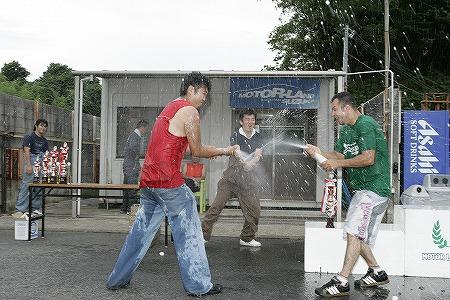 第57回 走行会 2009年7月11日 シャンペンシャワー