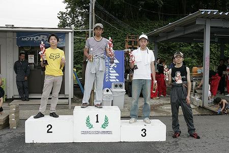 第57回 走行会 2009年7月11日 グリップ上級 表彰式