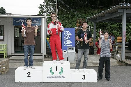 第57回 走行会 2009年7月11日 グリップ初級 表彰式