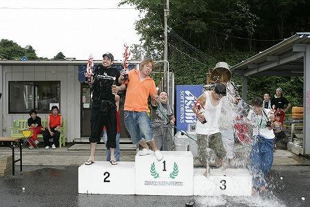 第57回 走行会 2009年7月11日 水シャワー