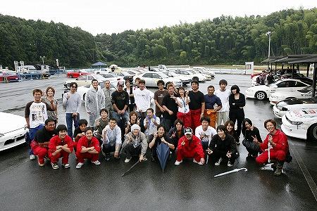 第58回 走行会 2009年9月12日 集合写真