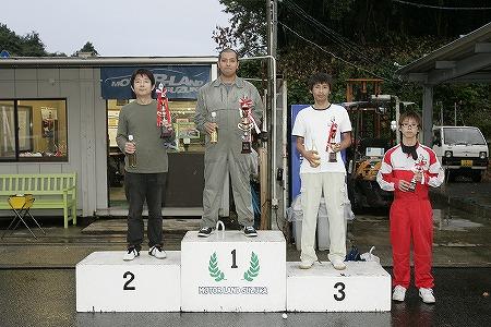 第58回 走行会 2009年9月12日 グリップ上級 表彰式