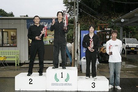 第58回 走行会 2009年9月12日 グリップ初級 表彰式