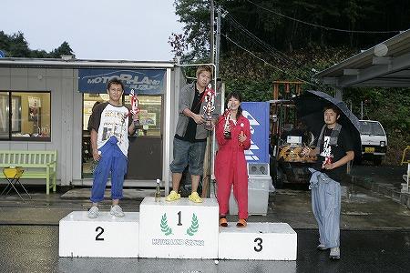 第58回 走行会 2009年9月12日 ドリフト上級 表彰式