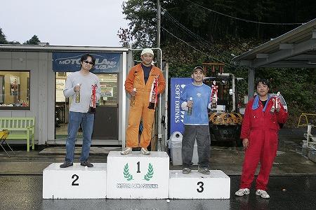 第58回 走行会 2009年9月12日 ドリフト初級 表彰式