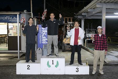 第59回 走行会 2009年11月14日 グリップ上級 表彰式