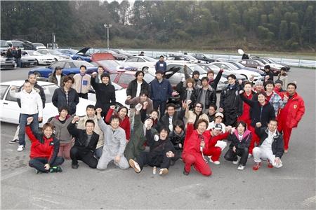 第60回 走行会 2010年3月13日 集合写真
