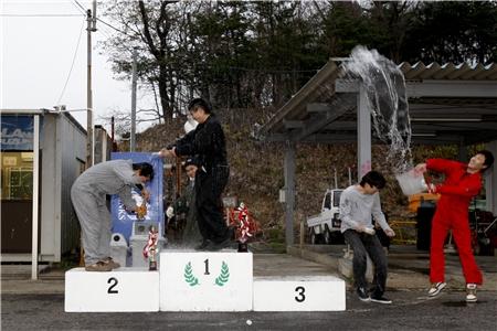 第60回 走行会 2010年3月13日 シャンペンシャワー2