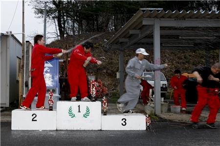 第60回 走行会 2010年3月13日 シャンペンシャワー1