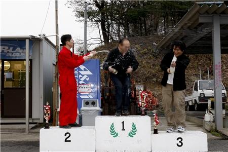 第60回 走行会 2010年3月13日 シャンペンシャワー3