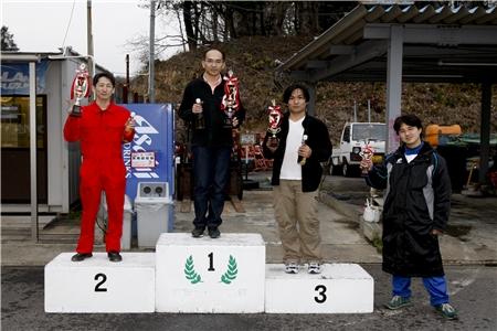 第60回 走行会 2010年3月13日 グリップ上級表彰式