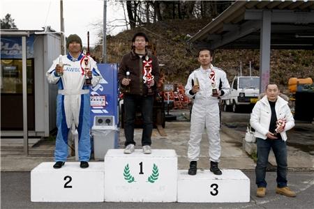 第60回 走行会 2010年3月13日 グリップ初級表彰式