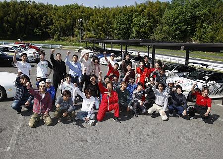 第61回 走行会 2010年5月8日 集合写真